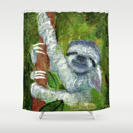 Carry the Love Shower Curtain