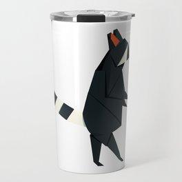 Racсoon Origami Travel Mug