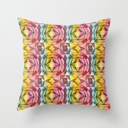 Ornament Tile Throw Pillow