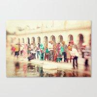 india Canvas Prints featuring India by Marianna Di Ferdinando