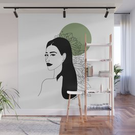 she was green Wall Mural