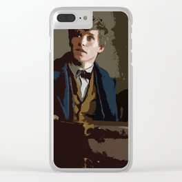 Newt Scamander 2 Clear iPhone Case
