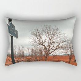 Bloody Red Lane Rectangular Pillow