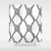 batik Shower Curtains featuring Batik by Dream Of Forest