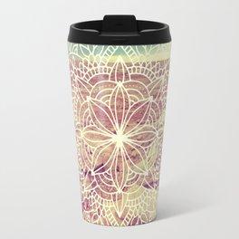 Rain Dance Desert Mandala Travel Mug