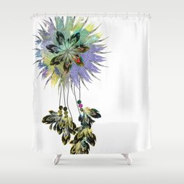Dreamcatcher focal point Shower Curtain