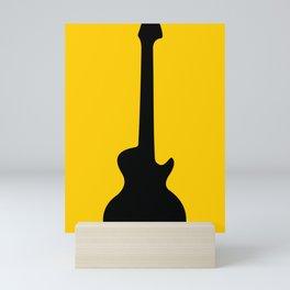Simple Guitar Mini Art Print
