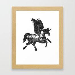 Pegasus Animus Framed Art Print