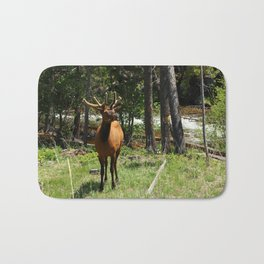 Rocky Mountain Wapiti Bath Mat