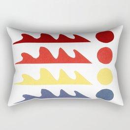 Odd shapes 3 Rectangular Pillow