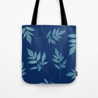 botanical Tote Bags featuring Botanical by Jody Edwards Art