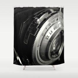 fstop macro Shower Curtain