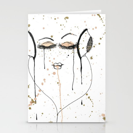 Out Of It Stationery Cards