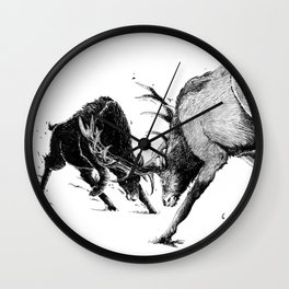 Inner Shadow Wall Clock