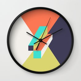 Poligonal 248 Wall Clock