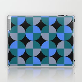 NeonBlu Squares Laptop & iPad Skin