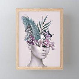 Tropical Girl 3 Framed Mini Art Print