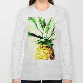 Golden Pineapple Long Sleeve T-shirt