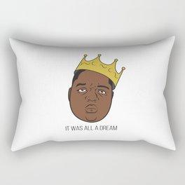 It Was All A Dream. Rectangular Pillow