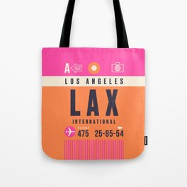 Luggage Tag A - LAX Los Angeles Umhängetasche