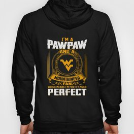 i am a pawpaw and a mountaineer norway Hoody