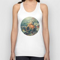nautical Tank Tops featuring Seachange by Terry Fan