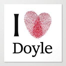 iDoyle Canvas Print