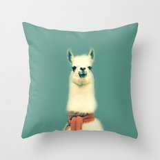 Llama Throw Pillow