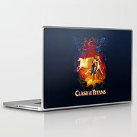 teen titans Laptop & iPad Skins featuring Titans by CromMorc