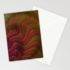 Wavy Waves Stationery Cards