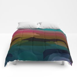 Caribbean Sunset Comforters