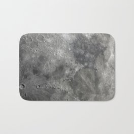 craters on the moon Bath Mat
