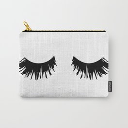Eyelash Print Carry-All Pouch