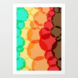 Layers Art Print