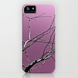 Reaching Violet iPhone Case