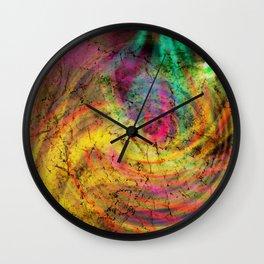 vultus enim libertas Wall Clock