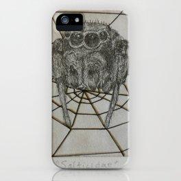Salticidae iPhone Case