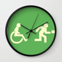 Get to da choppa! Wall Clock