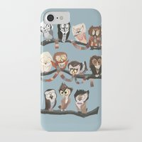 doctor iPhone & iPod Cases featuring Doctor Hoo - Painted Version by pupukachoo