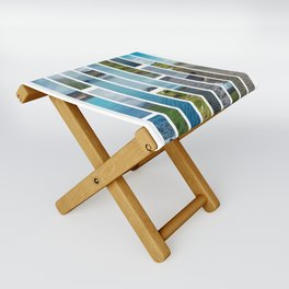 Pieces of Iceland Folding Stool