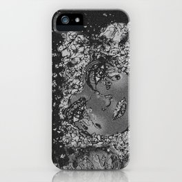 A Moon's Woman * B&W iPhone Case