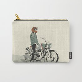 The Woman Rider Carry-All Pouch