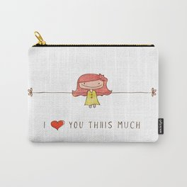 I love you girl Carry-All Pouch