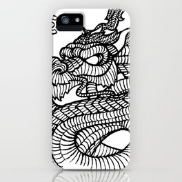 Inked Dragon iPhone Case