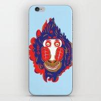 gorilla iPhone & iPod Skins featuring Gorilla by echo3005