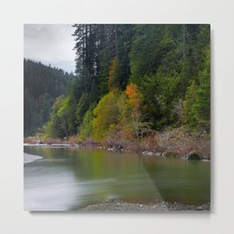 Autumn On Grizzly Creek Metal Print