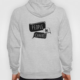 People and Chairs Hoody