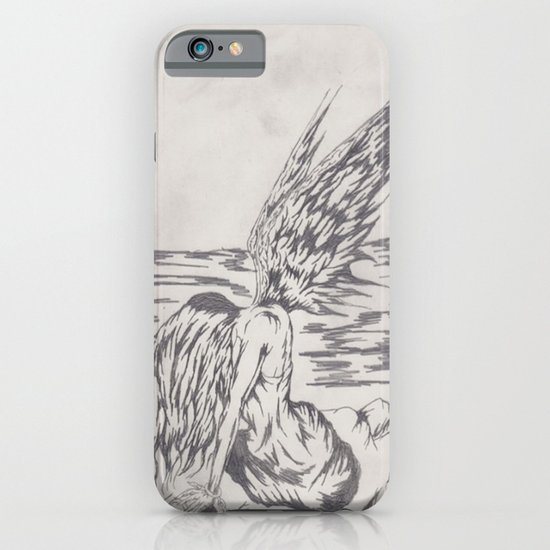 angel on rocks iPhone & iPod Case
