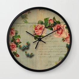 Le Jardin Wall Clock