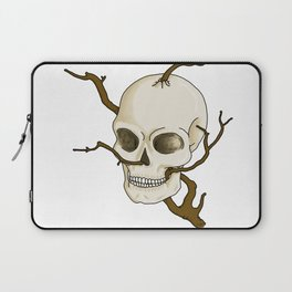 Skull and tree Laptop Sleeve